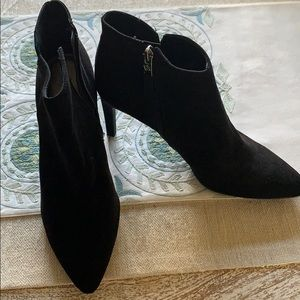 """Shoes - Sam & Libby Booties. 3"""" heel. Size 10"""